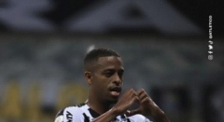 Keno marcou um gol e ainda deu duas assistências no duelo contra o Goiás