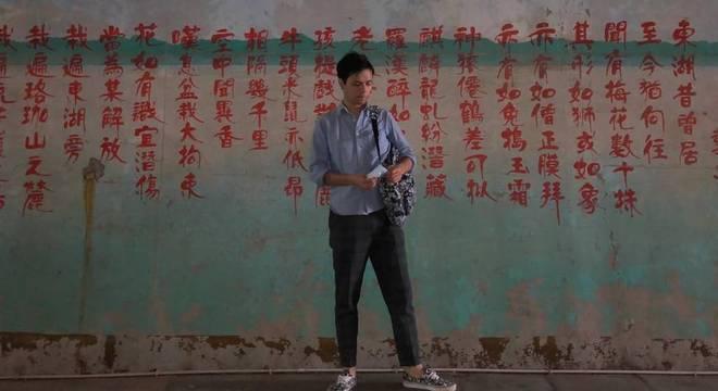 Kenyiti vive na China há sete anos