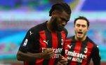 12º Franck Kessié: O volante marfinense, de 24 anos, é uma peça importante do Milan. Kessié também se valorizou em 30 milhões de euros (R$ 204 milhões). Agora, ele tem valor de mercado de 50 milhões de euros (R$ 340 milhões)