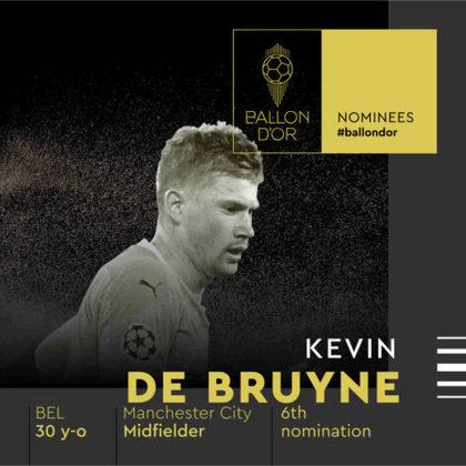 Kevin De Bruyne (belga) - meia - Manchester City