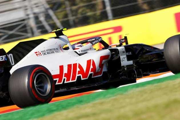 Kevin Magnussen conseguiu colocar o carro #20 na segunda parte do treino