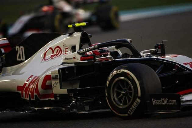 Kevin Magnussen, o 18º colocado.