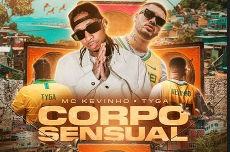 Capa do novo single de Kevinho e Tyga