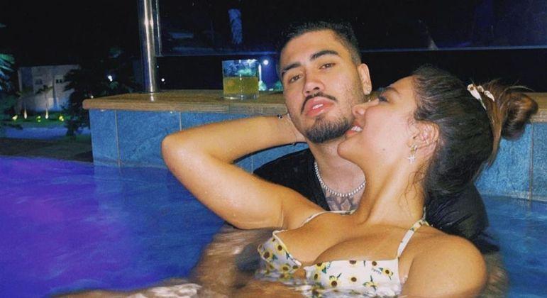 Kevinho e Gabriela estão juntos há 1 ano