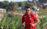 Kieza: com passagens por Cruzeiro, São Paulo e Fortaleza, Kieza sempre marcou gols por onde passou e vai para o seu segundo ano defendendo o Náutico.