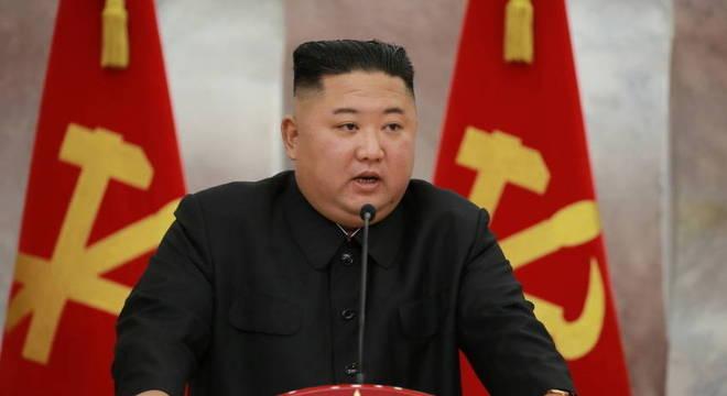 Kim Jong Un, declarou uma emergência por uma suposta infecção