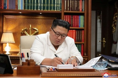 Agência estatal divulgou carta do líder norte-coreano