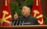 Líder norte-coreano diz que Estados Unidos são 'raiz' das tensõesVEJA MAIS