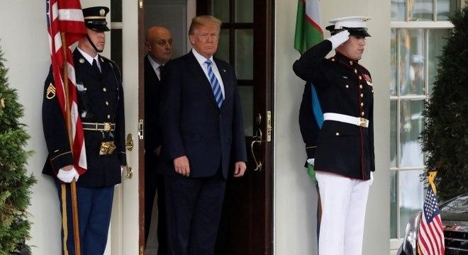 Trump disse que não houve notificação e nenhuma decisão foi tomada