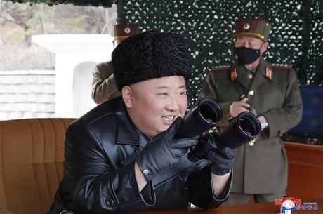 Kim Jong-un, em foto de março de 2020