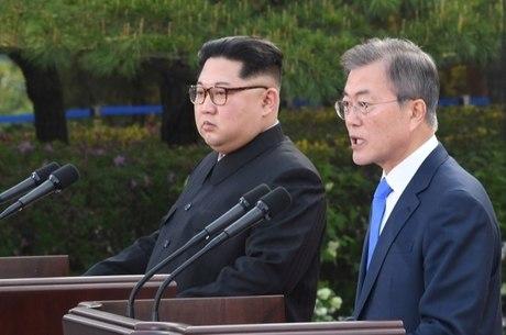 Líderes anunciaram planos para acabar com guerra
