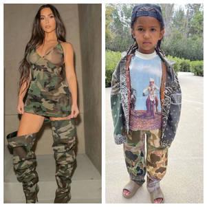 Kim Kardashian e Saint West