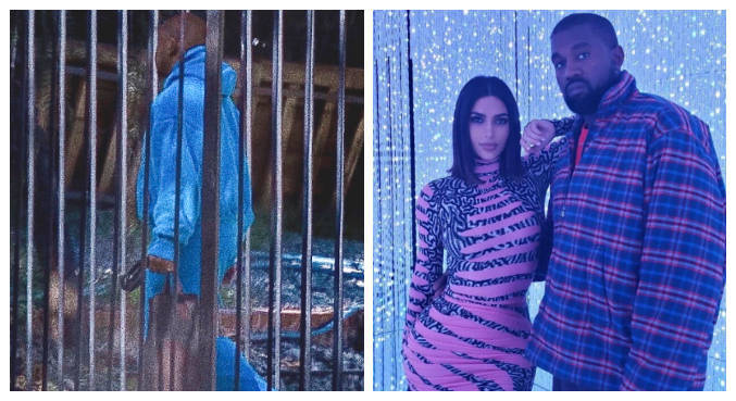 Rapper foi visto sem aliança pela primeira vez após boatos de término com Kim