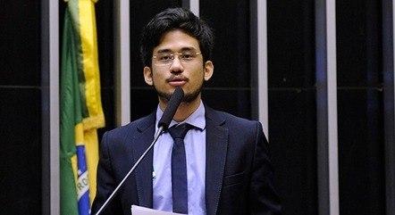 Na imagem, deputado Kim Kataguiri (DEM-SP)