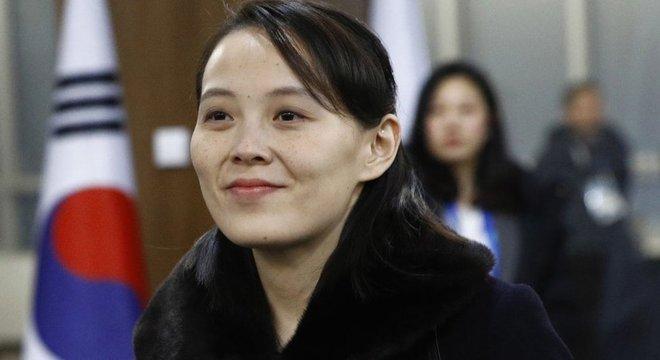 Kim Yo-jong é a única mulher no topo do comando da Coreia do Norte