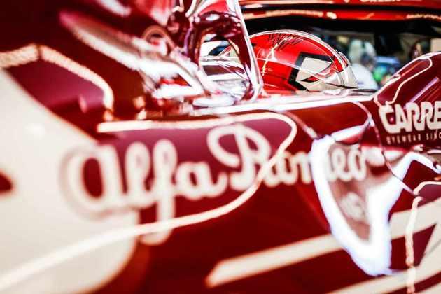 Kimi Räikkönen andou muito bem e foi o nono mais rápido do dia em Mugello
