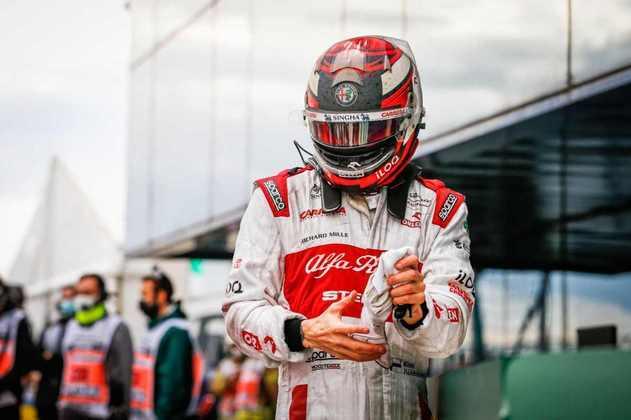 Kimi Räikkönen chegou a rodar no GP da Turquia.
