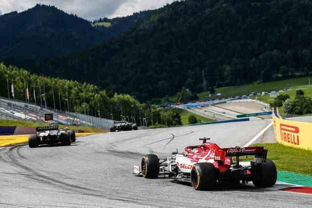 Kimi Räikkönen continua sem marcar pontos na temporada 2020