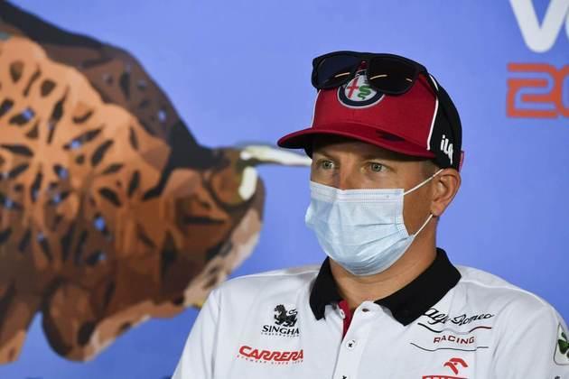 Kimi Räikkönen é um piloto ainda sem vaga para 2021