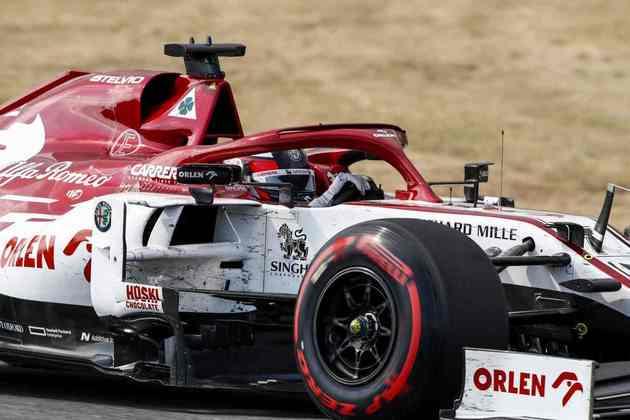 Kimi Räikkönen fechou o GP da Espanha em 14º