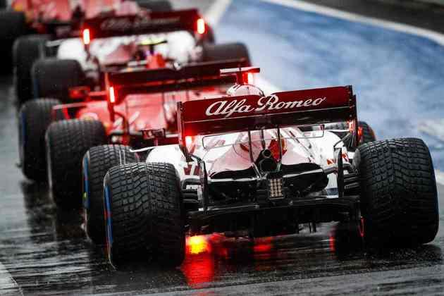 Kimi Räikkönen fez sua melhor volta em 1min21s372