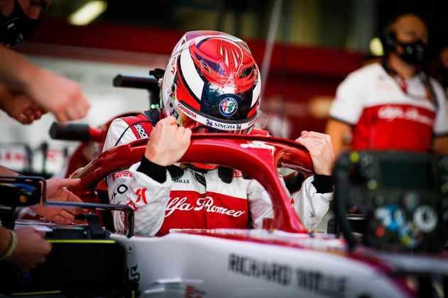 Kimi Räikkönen ficou com o 15º melhor tempo do segundo treino livre em Portugal