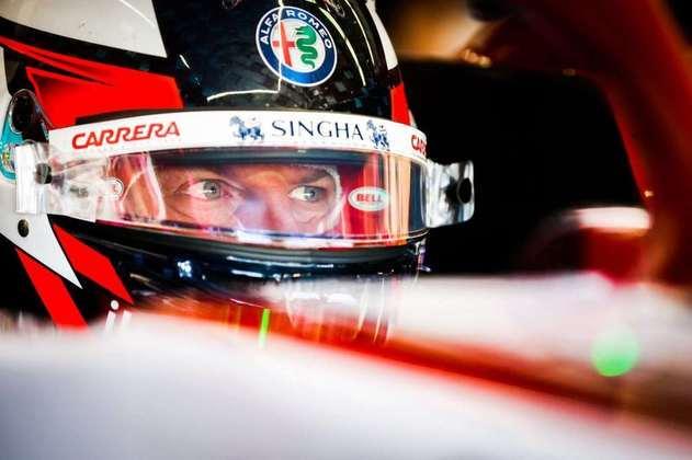 Kimi Räikkönen foi bem, avançou para o Q2 e larga em 13º