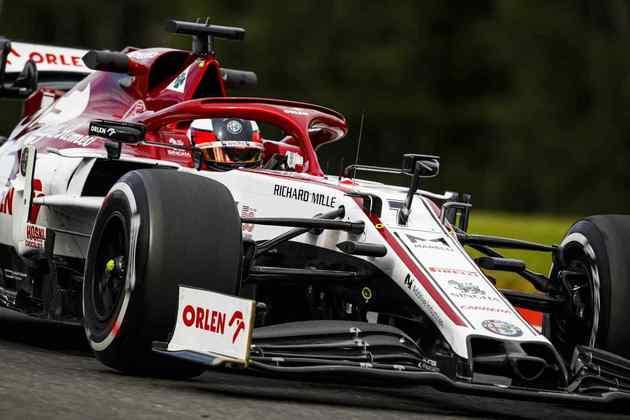 Kimi Räikkönen foi o 14º mais veloz dos treinos livres em Spa