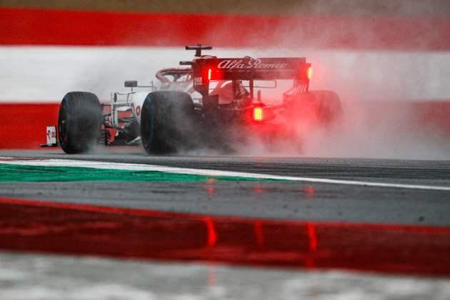 Kimi Räikkönen foi o mais rápido entre os eliminados no Q1