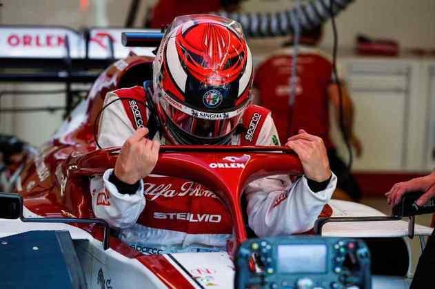 Kimi Räikkönen surpreendeu e mostrou bom ritmo em Mugello