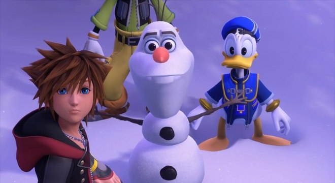 Kingdom Hearts III terá personagens da Disney