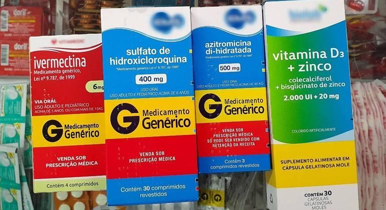 Fabricantes de remédios do 'kit covid' estão na mira da CPI da Pandemia