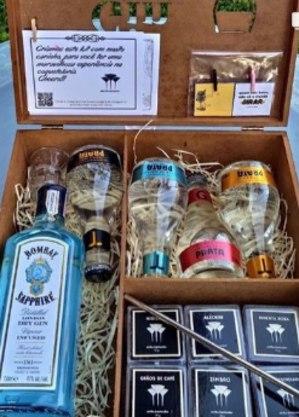 O kit 'Gin Lovers': ingredientes, acessórios e receita