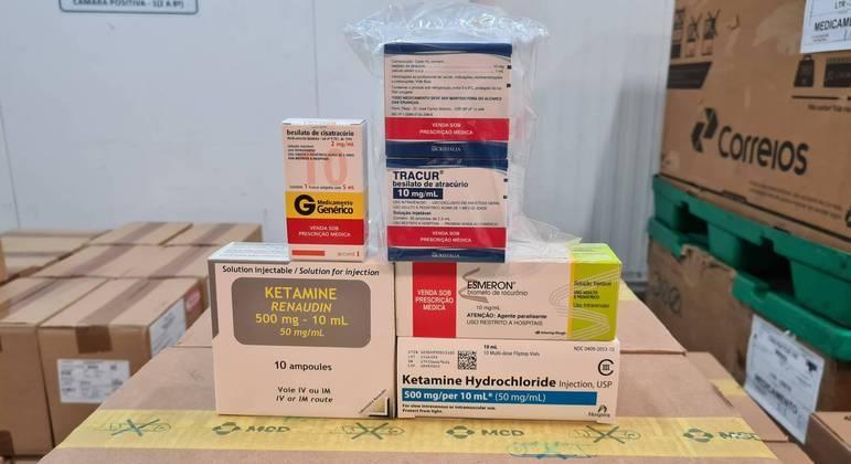 Medicamentos chegam ao Estado na tarde deste sábado (17)