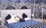 Para os que gostam de manter uma paleta de cores, o quartoAventura é a melhor inspiração. Cheio de tons azuis e muito branco, ele é umquarto aconchegante. A combinação de todas as peças Riachuelo fica incrível