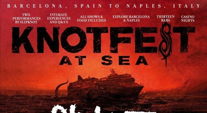 Knotfest At Sea, o cruzeiro do Slipknot