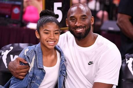 GiGi e Kobe frequentavam juntos os jogos da NBA