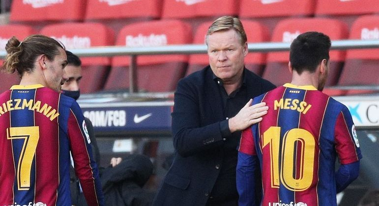 Koeman quer o 'melhor de Messi e o melhor do Barcelona' contra o Real