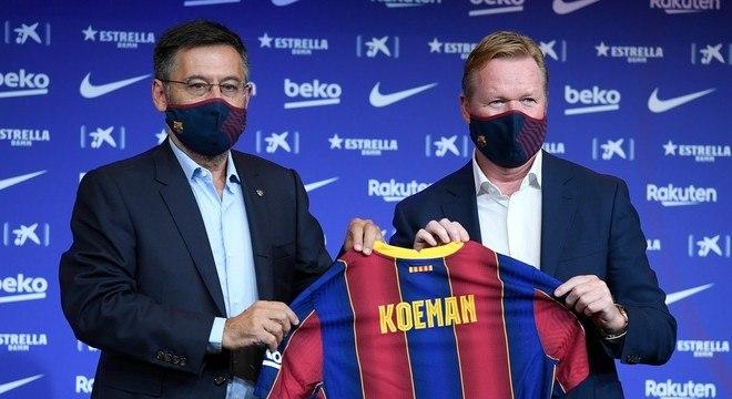 O técnico holandês escolheu ser ríspido com o jogador errado