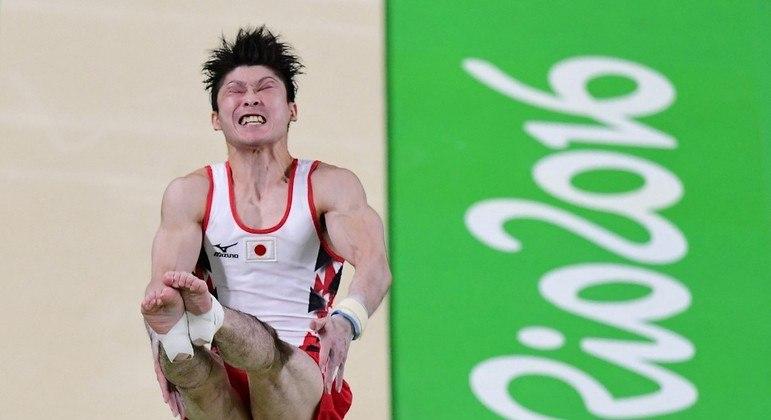 Kohei Uchimura foi medalha de ouro na Olimpíada Rio 2016