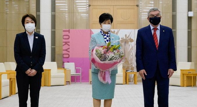 Bach se encontrou com autoridade japonesa e olímpica antes de Tóquio 2020