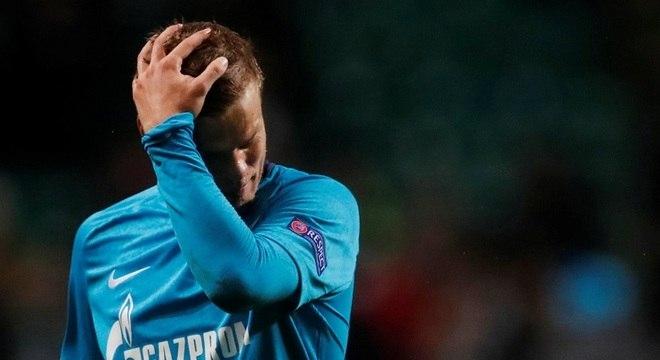 Kokorin não jogará na Copa do Mundo sediada em seu país
