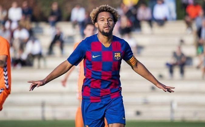 Konrad de la Fuente - Atacante - 19 anos - Barcelona B
