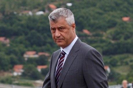 Hashim Thaçi, presidente de Kosovo