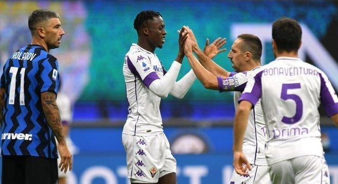 Kouamé, Fiorentina 1 X 0 aos 4'