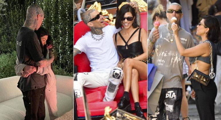 Kourtney Kardashian e Travis Barker se transformaram em um dos casais queridinhos da internet em 2021. Românticos, a empresária e o baterista não se desgrudam, adoram fazer declarações de amor públicas e estão curtindo o relacionamento ao máximo. Veja a seguir um resumo da história dos dois