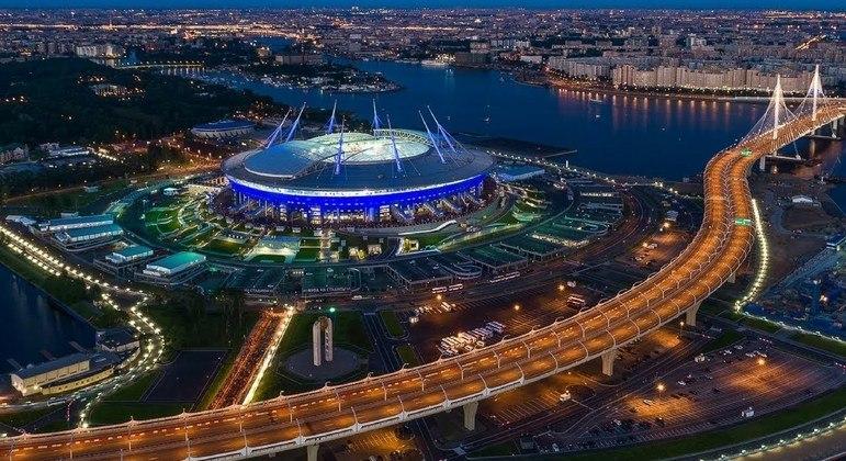 O Krestovky, em São Peterburgo