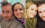 Kristen Bell e Dax ShepardOs atores estão juntos desde 2007, mas Kristen já revelou que Dax terminou com ela logo no começo da relação. Em entrevista, ela contou que o ator foi honesto ao dizer que ainda estava saindo com outras pessoas e que, apesar de ter ficado triste, achou legal da parte dele ter se aberto com ela. Algum tempo depois, Dax teria se arrependido e ligado para a atriz, dizendo que não sabia o que tinha na cabeça quando terminou. Casados desde 2013, eles são pais de duas meninas
