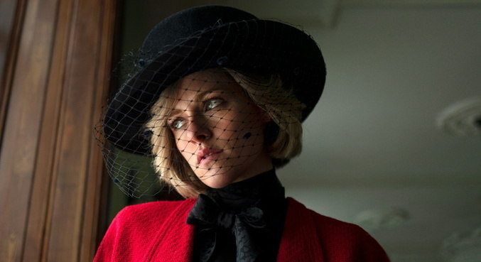 Caracterização de Kristen Stewart como princesa Diana impressionou internautas