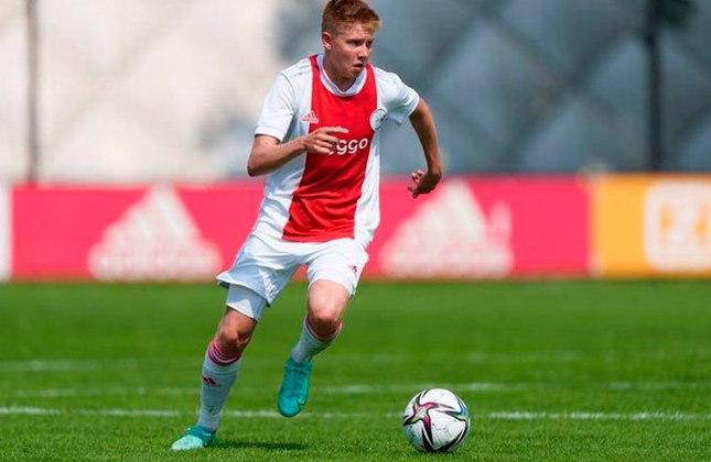 Kristian Hlynsson (Islândia) - Clube: Ajax (Holanda) - Posição: Meio-campista
